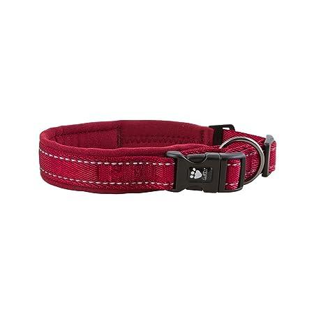 Hurtta Casual Collar de Perro Acolchado, Lingon, 45,72 cm - 55,88 ...