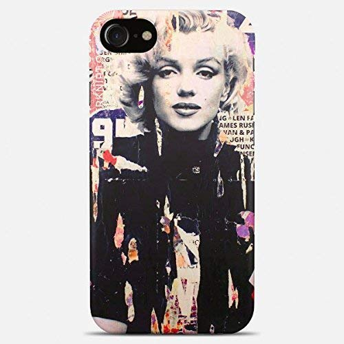 Inspired by Marilyn monroe phone case Marilyn monroe iPhone case 7 plus X XR XS Max 8 6 6s 5 5s se monroe Samsung galaxy case s9 s9 Plus note 8 s8 s7 edge s6 s5 note gift art cover hipster swag