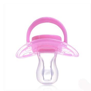 SHYI Chupetes Gel de sílice del sueño 3 meses y más , Pink , 1.8cm ...