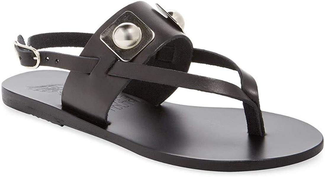 b51800b9d X Peter Pilotto Zoe Leather Thong Sandal