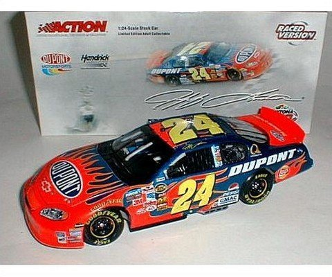- 3rd Daytona 500 Win 2005 Jeff Gordon Daytona 500 Winner Raced Win Version Monte Carlo 1/24 Action Racing Collectables Hood, Trunk Open Only 9430 Made