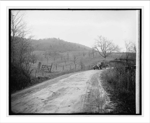 (Historic Print (L): Ford Motor Co., Lincoln in Shenandoah Nat. Park, [Virginia])