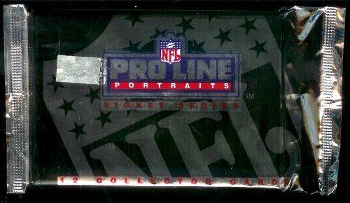 1991 NFL Pro Line Portraits Signet Series Collector Cards - 12 Cards Per (Portraits Autographed Card)