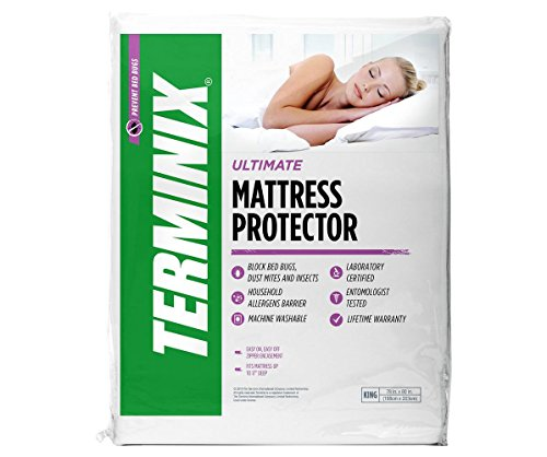 Terminix Ultimate Mattress Protector 6 Sided Water