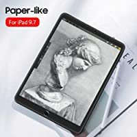 Elikliv Paper-Like Anti Glare Matte PET Screen Protector Cover for iPad pro 9.7inch 10.5inch 11inch 12.9inch (for iPad Air/pro 9.7inch)