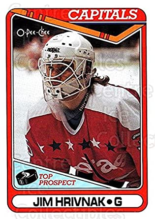 65d4fc5fd7d Amazon.com  (CI) Jim Hrivnak Hockey Card 1990-91 O-Pee-Chee (base) 9 ...