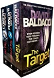 David Baldacci Will Robie Series 3 Books Collection Set Hit, The Innocent, The Target)