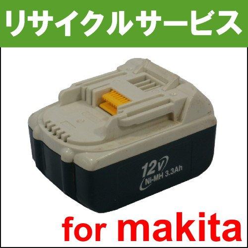 【電池の交換するだけ】【BH1233C】マキタ用 12Vバッテリー [リサイクル] B076TZKPR8