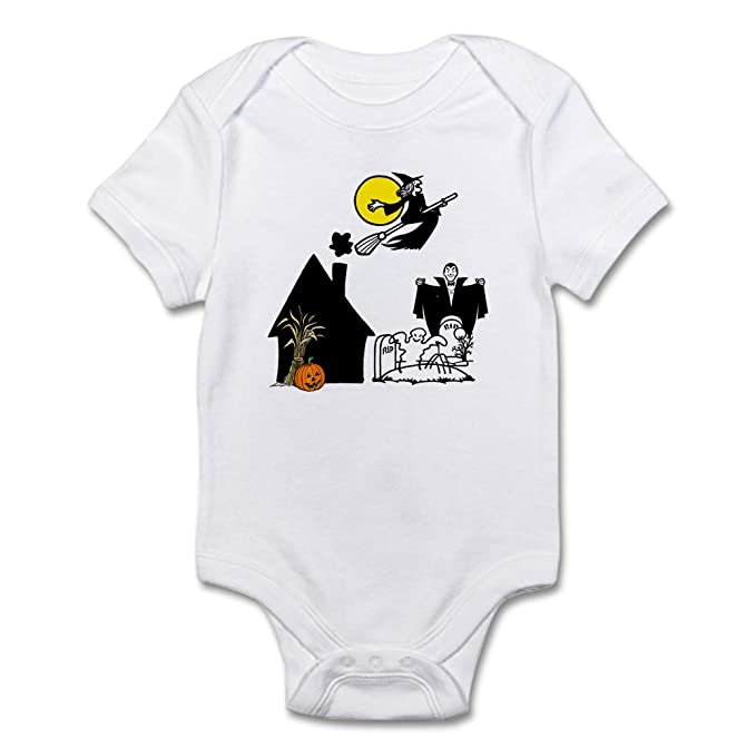 Amazon.com  CafePress Halloween Scene Baby Creeper Baby Bodysuit  Clothing 0f37f26df