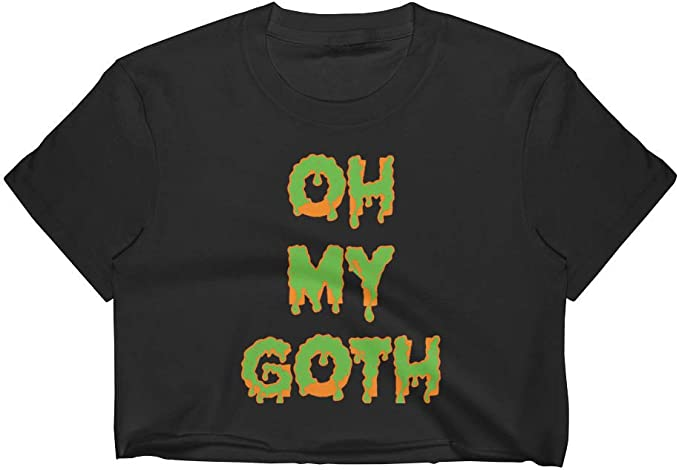 Oh My Goth Graphic Unisex Short Sleeve T-Shirt w//Tear Away Label Done by Dom