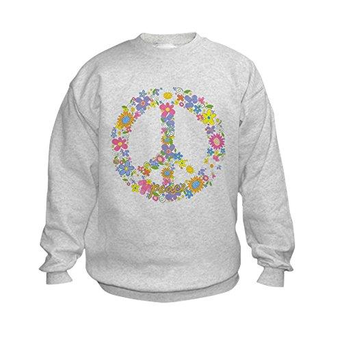 Peace Sign Kids Sweatshirt - 6