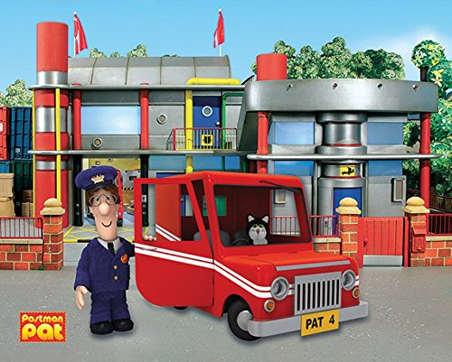 Empire Merchandising 703057 Mini Poster 40 x 50 cm, Board, Multi-Colour (Postman Pat Special Delivery Service Series 2)