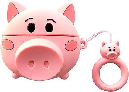 Amazon Com Pig Airpods Pro Case Cute 3d Funny Cartoon Pig