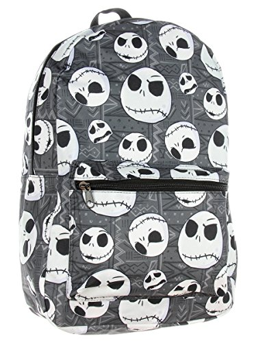 Jack Skellington Head Backpack