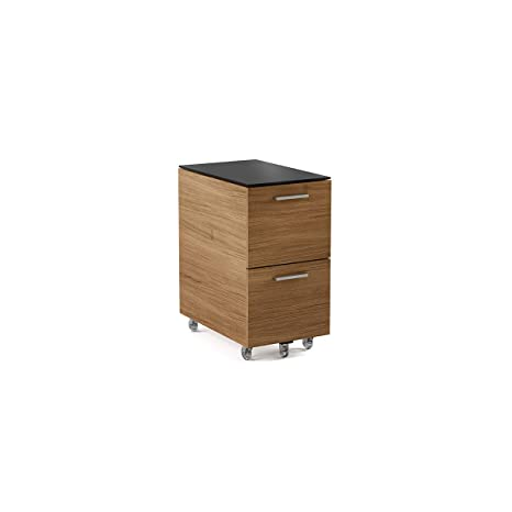 Lentejula - Archivador de 2 cajones Natural Walnut Finish