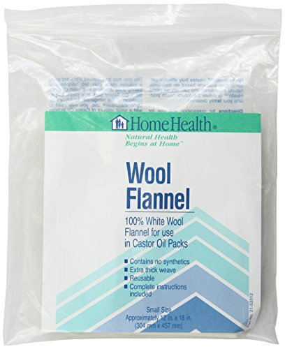 (Home Health Wool Flannel - Small Size, 12