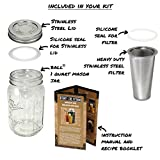 Cold Brew Mason Jar Coffee Maker by County Line