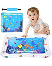 Wesimplelife Tummy Time Inflatable Baby Water Play Mat,Perfect Toys for Children & Infants Toddlers Baby Leakproof BPA Free Water Mat Toys for Baby's Stimulation Growth