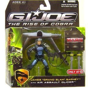 G.I. Joe: The Rise of Cobra Exclusive M.A.R.S. Troopers Action Action Action Figure James