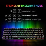 Gamenote 60% Mechanical Keyboard, Wired Gaming