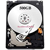 500GB 2.5 Laptop Hard Drive for HP Compaq replaces 634921-001, 634924-001, 634925-001