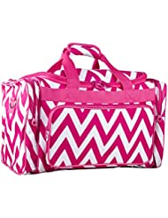 Ever Moda Chevron Large Duffle Bag