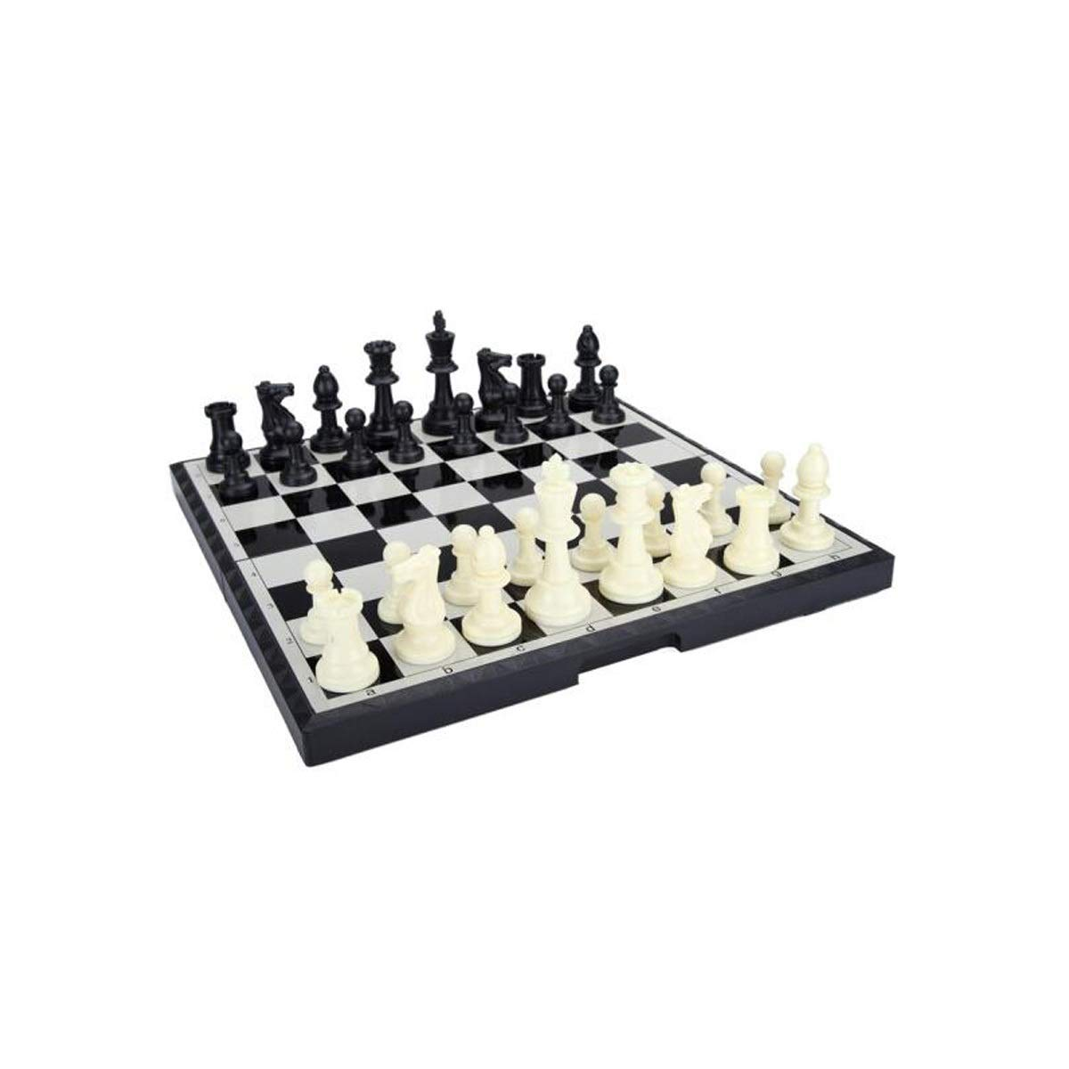 envío gratuito a nivel mundial HUIJUNWENTI Ajedrez, Tablero magnético Plegable portátil Internacional Internacional Internacional de ajedrez B-9 Grande ( Color   negro )  moda clasica