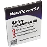 Samsung GALAXY Tab 2 10.1 SCH-I915 (Verizon) Battery Replacement Kit with Video Installation DVD, Installation Tools, and Extended Life Battery by NewPower99