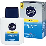 Nivea for Men Energy Double Action Shave Balm, 3.3 Fluid Ounce