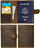 Villini - Leather US Passport Holder Cover RFID