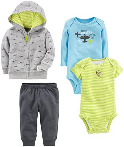 Simple Joys by Carter's Baby Boys' 4-Piece Little Jacket Set