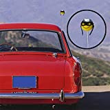 Car Antenna Hat Ball Styling Roof Ornament Yellow
