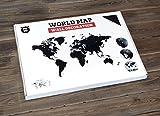 World Map - Travel Wall Decor - 51.2 х 30.8 Inches