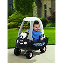 Little Tikes 615795M Cozy Coupe Ride-On Patrol Police Push Car w Working Horn by Unknown