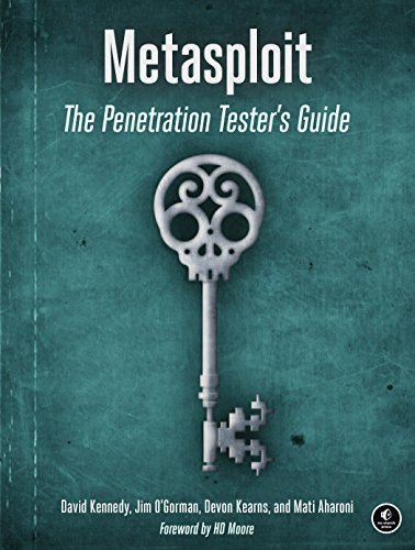 Book : Metasploit The Penetration Testers Guide - Kennedy,..