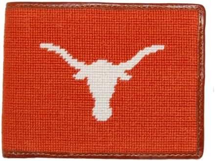 Smathers & Branson Needlepoint Collegiate Wallet, (W-Collegiate-P)