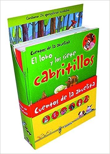 Estuche Cuentos de la Abuelita Pack de 24 libros - 4 por cada título: Amazon.es: Susaeta, Equipo: Libros