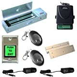 FPC-5019-VS One door Access Control Visionis Inswinging door 1200lbs Electromagnetic lock kit with wireless receiver and remote kit