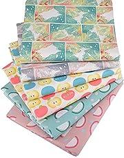 "Fruits Fat Quarters Fabric Bundles,Precut Sewing Quilting Fabric,18"" x 22"""