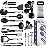 Kitchen Utensil Set 24 Nylon and Stainless Steel