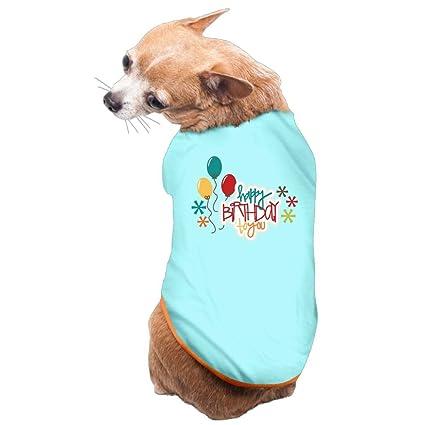 Amazon Dog Cat Pet Shirt Clothes Puppy Vest Soft Thin Happy