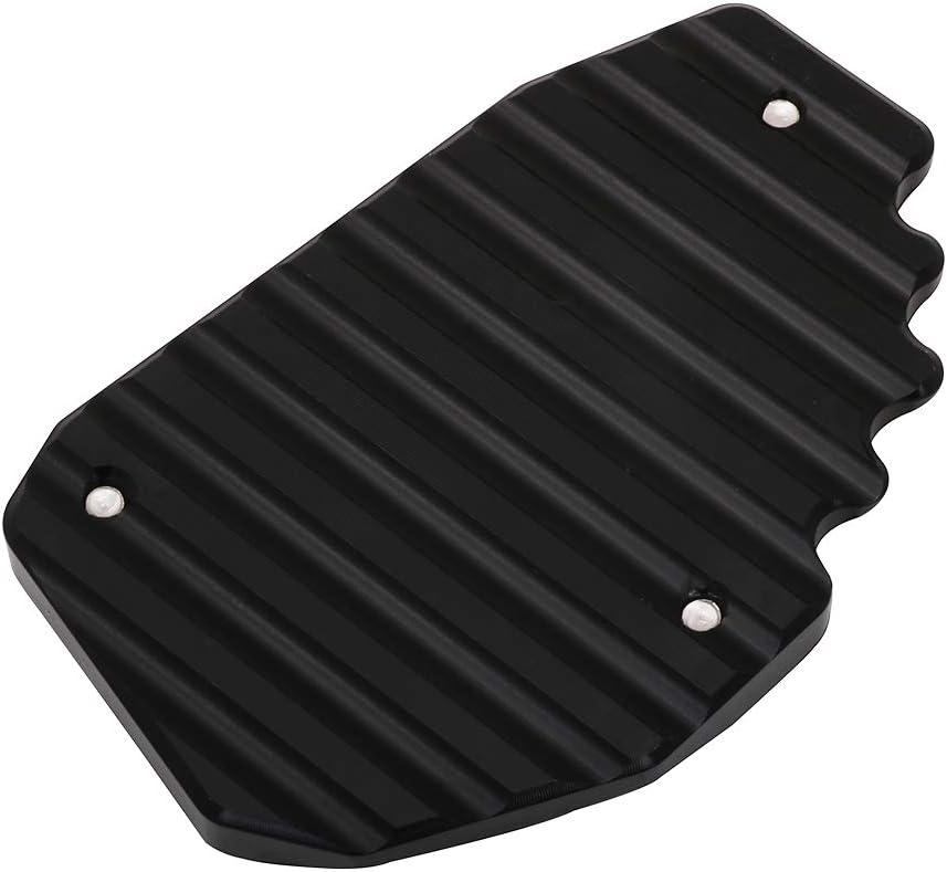 YSMOTO Motorrad Kickstand Fu/ßpolster CNC Seitenst/änder Verl/ängerung Pad St/ützplatte f/ür Ducati Multistrada 950 1100 1200 1200S 1200 DVT schwarz