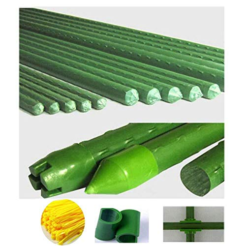 (Flower Pot Holder/Trellis Climbing Plants Pillar Plastic Flower Pot Holder, Roses Pots Supports Leaf Shape Potted Plant Fixing Support Obstacle Frame Patio Fence (Including Accessories))
