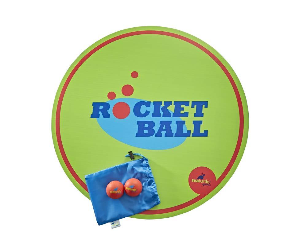 上等な SeaTurtle Sports ロケットボールスラムゲームセット SeaTurtle Sports リバーシブル木製ターゲットボード カスタムキャリーケース ボール2個 ルール B07JMGJJDK B07JMGJJDK, Clover Planning:9ffce675 --- beyonddefeat.com