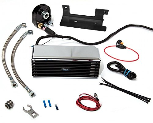 Custom Oil Cooler - Ultracool Stainless 2.0 Version Oil Cooling System Reefer Cooler Harley Davidson Touring 2009-2016