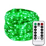 HAHOME Dimmable Christmas String Lights, Waterproof Fairy Lights, Deco Rope Lights for Seasonal
