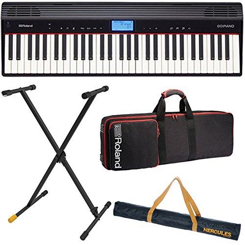 Roland ローランド キーボード GO:PIANO Entry Keyboard (GO-61P)【ポータブルセット】   B07C67RW8J