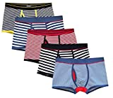 Best Mens Underwear Trunks - CHUNG Men's X-Temp Cotton Boxer Brief Underwear Fashion Review