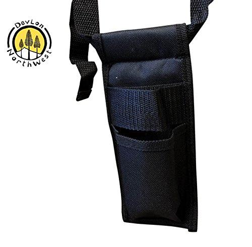 DevLon NorthWest Single Adjustable Massage Oil/Lotion Holster (Holster Single Oil)