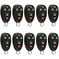 Car Key Fob Keyless Entry Remote fits Chevrolet, Buick, Pontiac, Saturn (22733524), Bulk Lot of 10